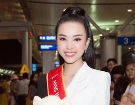 Tiểu Vy, Phương Nga tiễn Á hậu Thúy An lên đường sang Ai Cập thi Hoa hậu Liên lục địa