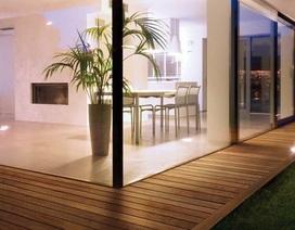 Sàn gỗ tự nhiên ngoài trời nên chọn loại nào tốt