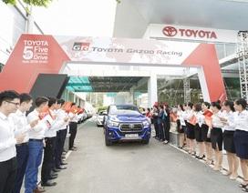 """""""Hành trình 5 châu cùng Toyota"""" đã kết thúc với điểm cuối là Việt Nam"""