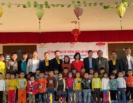 Quỹ Vì cuộc sống tươi đẹp của Công ty BHNT Dai-ichi Việt Nam và VNPost bàn giao hệ thống máy lọc nước tại Thanh Hóa và Quảng Ninh