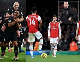 """Arsenal 1-2 Brighton: """"Pháo thủ"""" tiếp tục nhận trái đắng"""