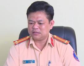 """Tạm đình chỉ 2 cán bộ CSGT Đồng Nai liên quan vụ """"bảo kê"""" xe quá tải"""