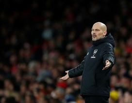 HLV Ljungberg thất vọng sau thất bại của Arsenal trước Brighton