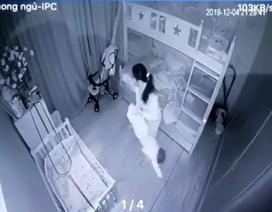 Tạm giữ người giúp việc nghi cầm hai chân dốc ngược bé gái 13 tháng tuổi