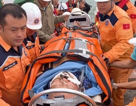 Cứu thành công nam du khách Nhật Bản bị nạn ngoài khơi Nha Trang