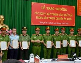 Khen thưởng chuyên án phá đường dây hàng nghìn bánh heroin tại TPHCM