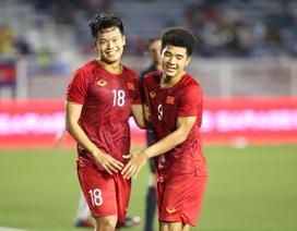Đè bẹp U22 Campuchia, U22 Việt Nam vào chung kết SEA Games 30