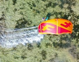 Ninh Thuận tổ chức lễ hội lướt ván diều đầu tiên tại Việt Nam
