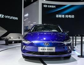 Hyundai âm thầm giới thiệu xe chạy điện Lafesta tại Trung Quốc