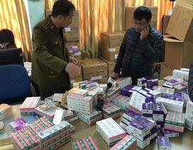 Thu giữ lô thuốc tân dược không rõ nguồn gốc trị giá gần 2 tỷ đồng ở Hà Nội