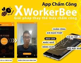 Ứng dụng chấm công XworkerBee, giải pháp hoàn hảo thay thế máy chấm công