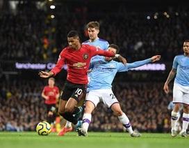 Man City 1-2 Man Utd: Rashford, Martial lập công