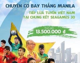 Bamboo Airways khai thác chuyến bay đến Philipines phục vụ SEA Games 30