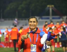 """HLV Mai Đức Chung: """"Tôi hạnh phúc vì lại thắng Thái Lan để giành HCV"""""""