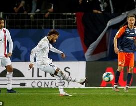 Neymar tỏa sáng, PSG hạ Montpellier và xây chắc ngôi đầu Ligue 1
