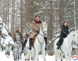 Vẻ đẹp trên lưng ngựa của phu nhân các lãnh đạo thế giới
