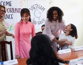 Bà Michelle Obama nhắn gửi nữ sinh Việt: Hãy theo đuổi ước mơ thông qua giáo dục