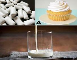 Phụ gia xuất hiện nhiều trong các thực phẩm màu trắng có thể gây ung thư