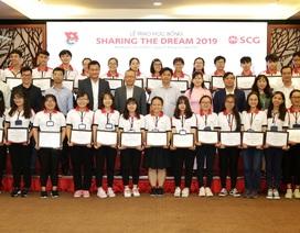 SCG Sharing The Dream - Một góc nhìn mới về học bổng