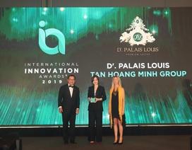Dự án D'.Palais Louis của Tập đoàn Tân Hoàng Minh giành Giải thưởng sáng tạo đổi mới quốc tế 2019