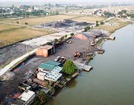 Nam Định: Dân khốn khổ vì những bãi tập kết than trái phép gây ô nhiễm môi trường