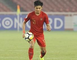 Hậu vệ U22 Indonesia tự tin thách thức hàng công U22 Việt Nam