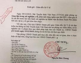 Chủ tịch UBND TP Hà Nội yêu cầu xử lý nghiêm vụ cắt đôi test thử HIV, viêm gan B