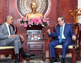 Cựu Tổng thống Obama sẵn sàng làm cầu nối giới thiệu doanh nghiệp Mỹ đầu tư tại Việt Nam