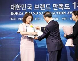 Doanh nhân có 9 bằng về da tại Úc nhận giải thưởng tại Korea Brand Satisfaction Awards