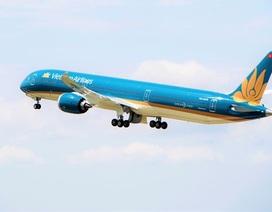 """""""Siêu máy bay"""" Boeing 787-10  đón đoàn thể thao Việt Nam trở về từ SEA Games 30"""