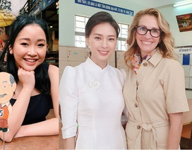 """""""Người đàn bà đẹp"""" Julia Roberts đến Việt Nam cùng bà Michelle Obama"""