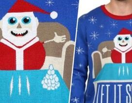 Walmart lên tiếng xin lỗi vì áo len có hình ông già Noel đang sử dụng ma túy