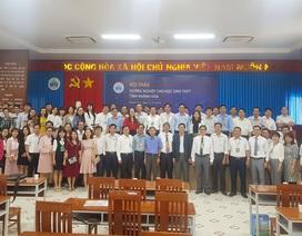 Khánh Hòa: Gần 100 giáo viên dự hội thảo hướng nghiệp cho học sinh THPT