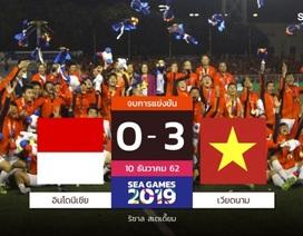Báo Thái Lan chúc mừng U22 Việt Nam giành HCV SEA Games