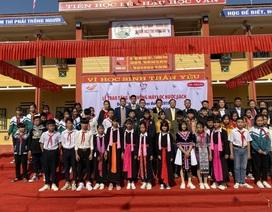 Quỹ Vì cuộc sống tươi đẹp của Công ty BHNT Dai-ichi Việt Nam và VNPost bàn giao công trình Nước sạch học đường