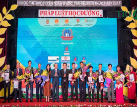 """Tổng công ty khí Việt Nam - PV Gas thể hiện trách nhiệm với cộng đồng qua cuộc thi """"Pháp luật học đường"""""""