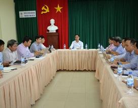 Phó TGĐ EVNNPT Bùi Văn Kiên kiểm tra tiến độ ĐZ 500 kV Dốc Sỏi – Pleiku 2