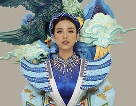 Á hậu Thúy An tiết lộ trang phục dân tộc lấy cảm hứng truyện cổ tích Thạch Sanh