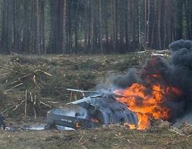 Rơi trực thăng quân sự Nga, 2 người thiệt mạng