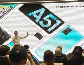 Samsung ra mắt Galaxy A51 đầu tiên trên thế giới chụp marco cận cảnh