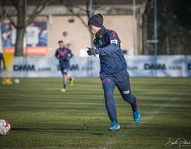 Công Phượng miệt mài tập luyện chờ ngày được ra sân ở Sint Truidense