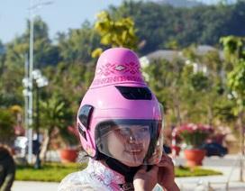 Độc đáo những chiếc mũ bảo hiểm chỉ có tại Việt Nam
