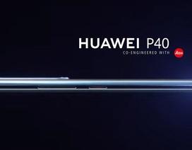 Huawei P40 lộ ảnh với màn hình cong, nút bấm vật lý