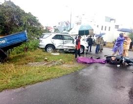 Một học sinh tử nạn trên đường đi học sau vụ tai nạn liên hoàn