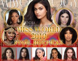 Trước giờ G, Lương Thuỳ Linh lọt top 10 ứng viên sáng giá Hoa hậu Thế giới 2019