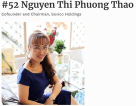 """2,7 tỷ USD trong tay, bà Nguyễn Thị Phương Thảo vào top """"quyền lực nhất thế giới"""""""