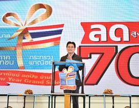 """Thái Lan bắt đầu tháng """"đại hạ giá"""", hàng hóa giảm tới 70%"""