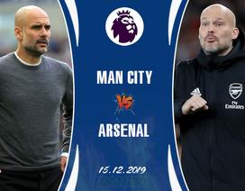 Man City - Arsenal: Không thể còn đường lùi