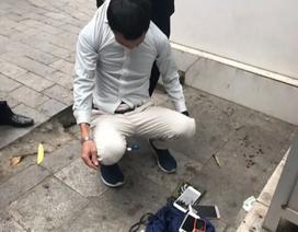 Hà Nội: Quây bắt đối tượng trộm cắp trên phố đi bộ Hồ Gươm, thu được hung khí