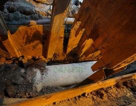 """Những mét cống đầu tiên được hạ thổ xuống """"con đường đau khổ"""" tại TP HCM!"""